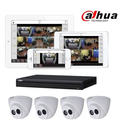 wireless home alarms home dahua home cctv camera and recorder alarm and monitoring package -element security